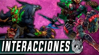 Warwick | Interacciones a Campeones [League of Legends]