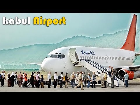 Landing In Kabul International airport | Kabul Afghanistan |