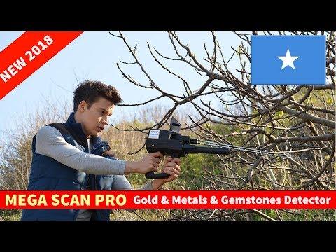 Mega Scan Pro Gold & Metal & Diamonds Detector in Somalia 2018