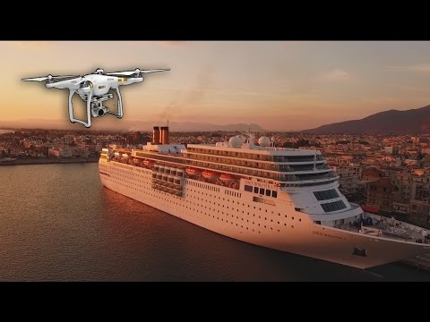 DJI Phantom 3 Pro filming costa neoRomantica