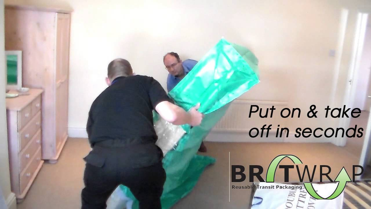 Mattress Packaging Solution For Moving Home And Storage