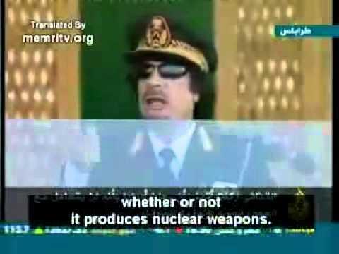 Gaddafi on Obama, and JFK Assassination