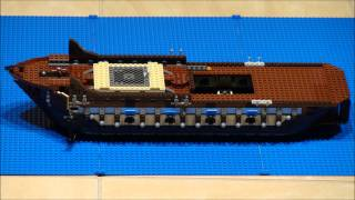 Lego Imperial Flagship - 10210 - Stop Motion