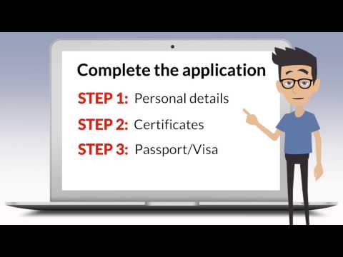 How to apply online to the University of Tasmania. Part 2: Completing your online application