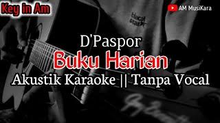 Download Buku Harian - D'Paspor - Akustik Karaoke ( Tanpa Vocal )