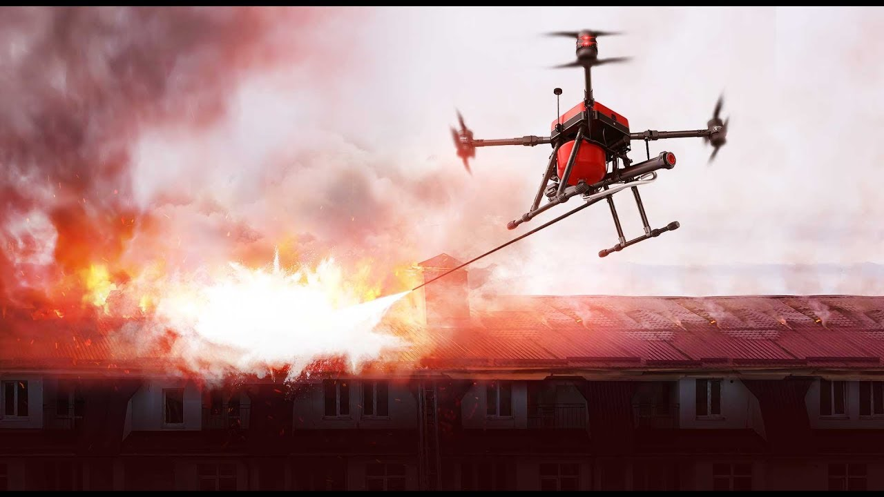 The Future of Firefighting begins with Drones