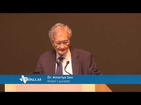 Dr. Amartya Sen - Women: Survival and Empowerment
