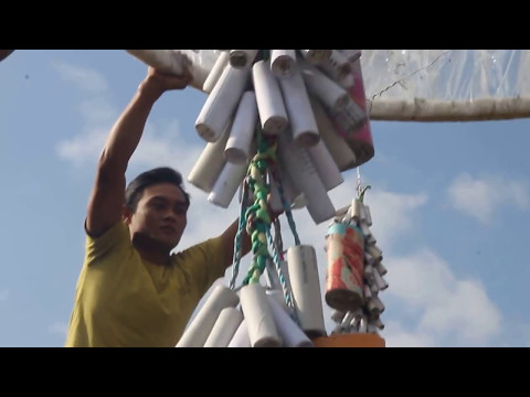 Tragedi Petasan Menyambar Andang  Balon Maron 2014