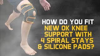Ugoku New Ok Knee Support - Sport Support