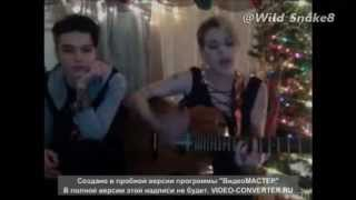 Juliet Simms and Andy Biersack on Stageit