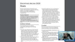 Novos Talentos para D&D 5e?! | Análise do Unearthed Arcana