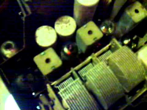 Vintage 6 volt valve car radio