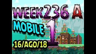 Angry Birds Friends Tournament Level 1 Week 326-A  MOBILE Highscore POWER-UP walkthrough