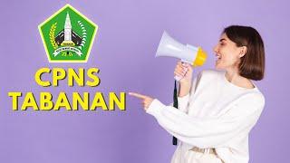 TABANAN   FORMASI CPNS LULUSAN SMA SMK 2021