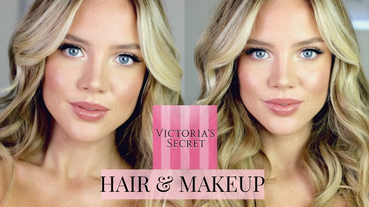 Victoria's secret inspired makeup | full face youtube.