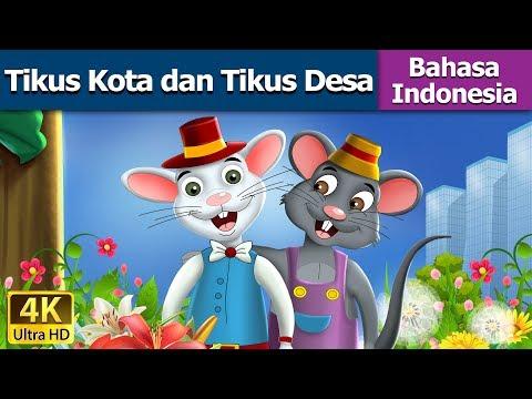 Tikus Kota dan Tikus Desa | Dongeng bahasa Indonesia | Dongeng anak | Indonesian Fairy Tales