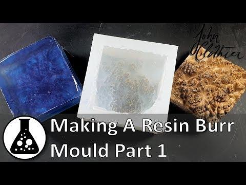 Making A Resin Burr Mould - Part 1