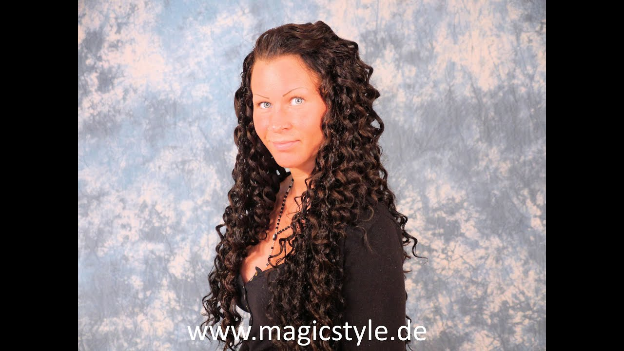 Extensions tressen locken