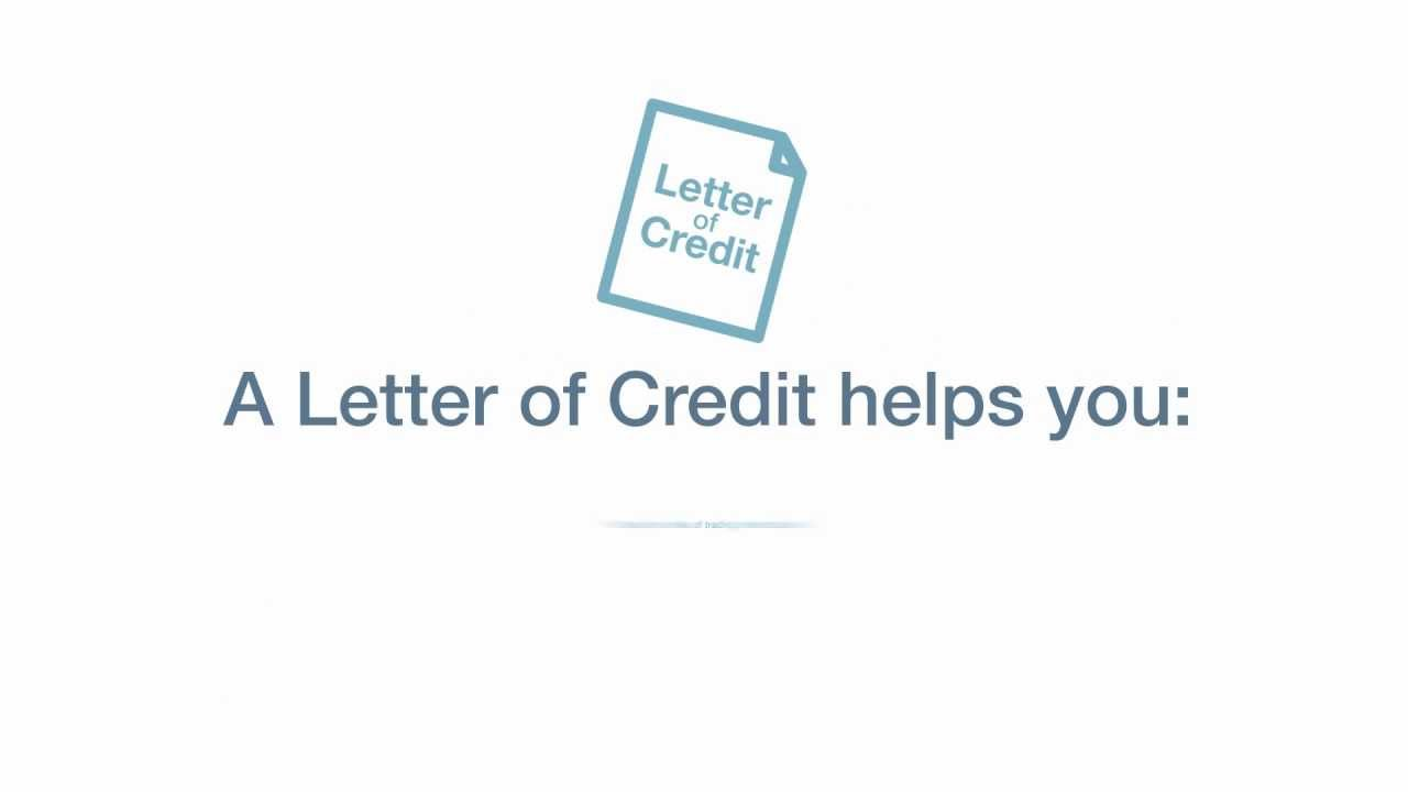 Letters Of Credit Training Youtube
