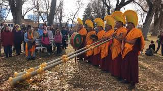 Drepung Loseling Monks - Healing in a Conflicted World - Kit Karson Tree Blessing Ceremony Clip 3