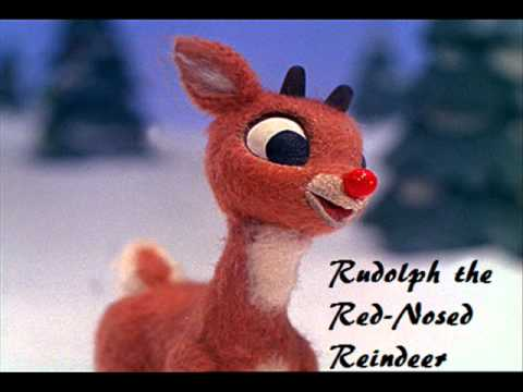 Rudolph the Red-Nosed Reindeer - Music Video (Lyrics)
