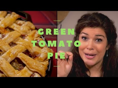 How to Make GREEN TOMATO PIE - Recipe & Why - with PREPSTEADERS.com