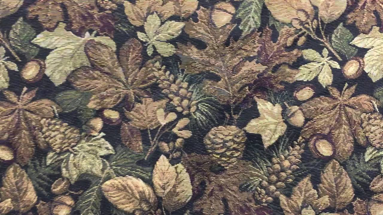 Forest Floor Oak Leaf Upholstery Fabric Mountain Lodge Rustic