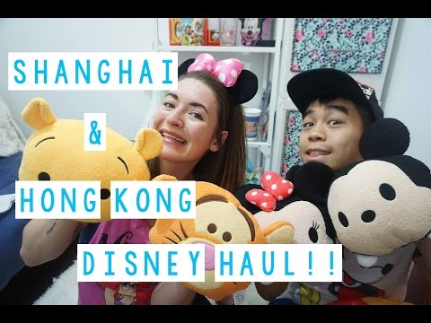 Shanghai & Hong Kong Disney Land Haul!