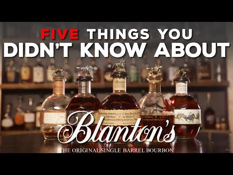 5 Things You Didn't Know About Blanton's Bourbon