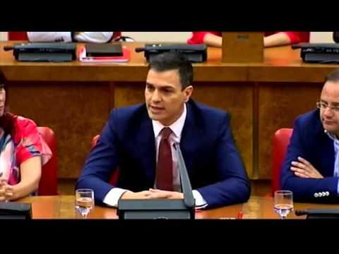Pedro Sánchez interviene ante el GPS