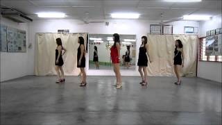 Eres Todo En Mi line dance - Walk Through & Demo by Mayee Lee