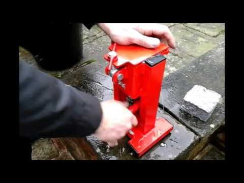 Briquette press, Free Fuel for Wood burners as an alternative to logs or coal