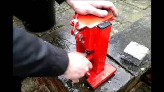 briquette press free fuel for wood burners as an alternative to logs or coal