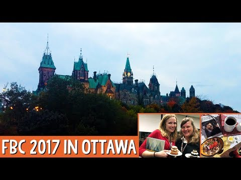 Sneak Peek into a Food Blogger Conference - FBC2017 in Ottawa, Canada