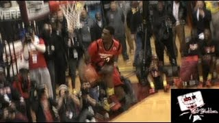 Andrew Wiggins SHUTS! The Gym Down With 360 Between The Legs Dunk!