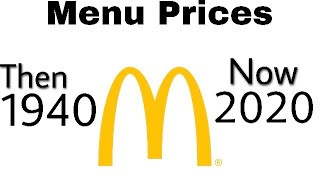 #McDonald's | Menu Prices Then & Now | Then & Now Part 3 | Fast Food Edition | It's Just Life