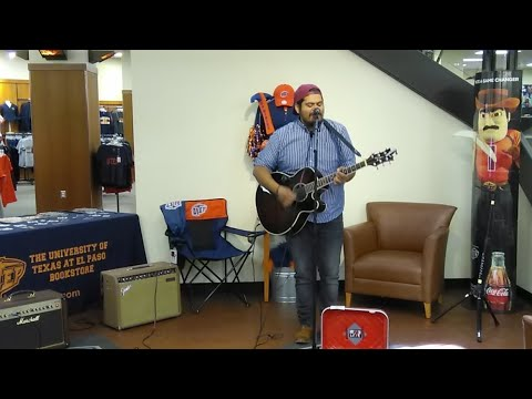 Never Too Late Live at UTEP Bookstore | Part 1