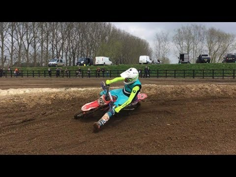 RIPPING THE PIT BIKES ON AWESOME NEW MINIBIKE TRACK !!