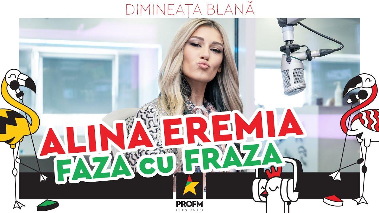 JOC !!! ALINA EREMIA -  FAZA cu FRAZA la #DimineataBlana