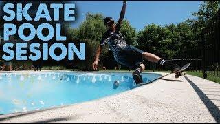 Skate Pool Session (Transmisión en Vivo!!)