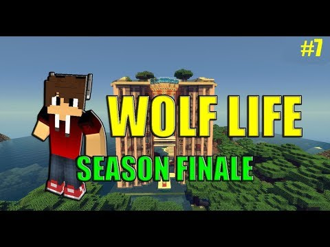 IM NOT A PET... | Wolf Life #7 SEASON FINALE | Minecraft Rol