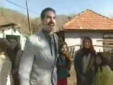 Borat visits his village