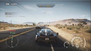 Need for Speed : Rivals, Max Upgraded Lamborghini Venano, Police Chase