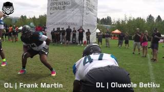 The Opening 2015: OL vs DL 1 on 1
