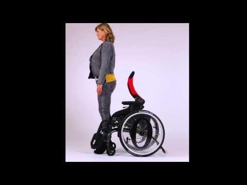O4 Wheelchairs - Actief Passief Module - van zitten tot staan