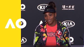 Serena Williams press conference (4R) | Australian Open 2019