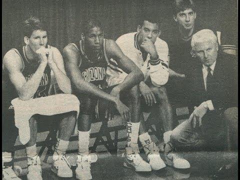 1988 NCAA Final Four Semi Final   Oklahoma vs Arizona