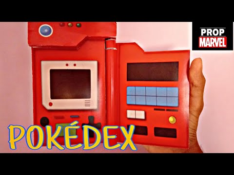 How to make Pokedex | stop-motion assembly | Prop Marvel