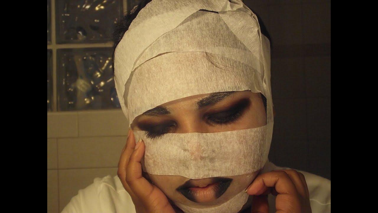 DIY Mummy Costume and Makeup Tutorial  sc 1 st  YouTube & DIY Mummy Costume and Makeup Tutorial - YouTube