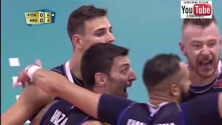 Italy vs Argentina Men World Championship 2018 Preliminary Round- Full Match Highlights - HD